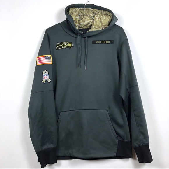 newest 95268 8d9f6 Nike Seahawks Sweatshirt